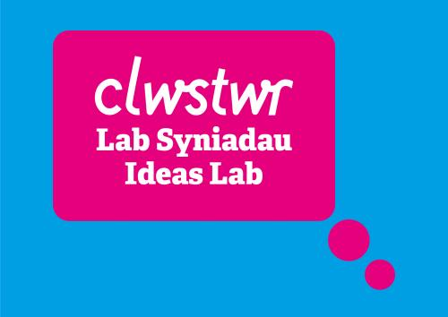Clwstwr Ideas Lab logo
